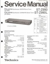Technics Original Service Manual für ST- Z 990/L