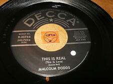 MALCOLM DODDS - THIS IS REAL - I'LL ALWAYS BE WITH YOU  / LISTEN - RNB JIVE