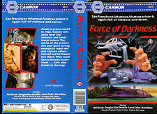 Force Of Darkness - Mel Novak - Used Video Sleeve/Cover #17268