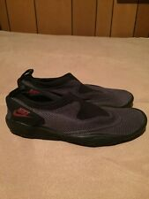 Vintage Retro Nike Aqua Turf Water Shoes Gray Black Red Size 7 90's