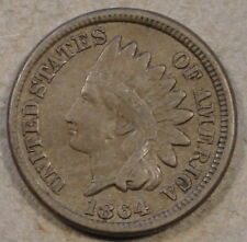 1864 Cn Indian Cent Vf