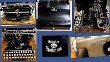 Rare Hammond MultiPlex Typewriter for Collector or Museum