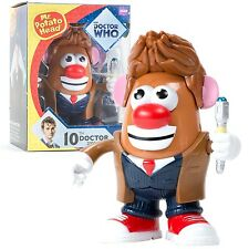 "DOCTOR WHO - 10th Doctor 6"" Mr Potato Head Figurine (PPW Toys) #NEW"