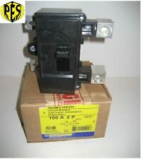 NIB Square D QOM2100VH 100 Amp MAIN BREAKER found in QO & Homeline Panels NEW