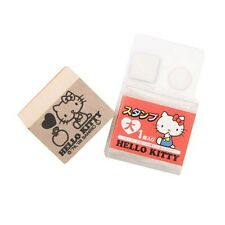 SANRIO HELLO KITTY WOODEN MINI STAMP / CHOP Q08717