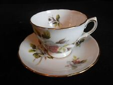 Royal Vale Bone China Floral Tea Cup and Saucer Ridgway Potteries Patt. No 8220