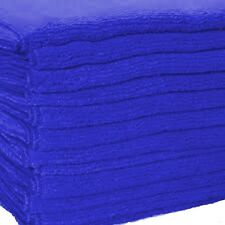 24 DARK BLUE MICROFIBER TOWELS NEW CLEANING CLOTHS BULK 16X16 MANUFACTURERS SALE