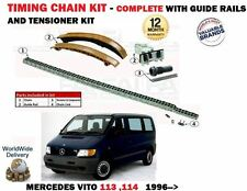 FOR MERCEDES VITO 938 114 2.3 113 2.0 1996-2003 NEW TIMING CHAIN TENSIONER KIT