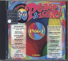 RED RONNIE - Peace & lOVE 1966-1 DAVID BOWIE SANDIE SHAW LOVE WILSON PICKETT CD