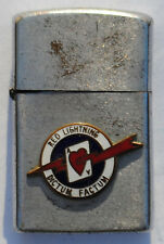 Vintage Military Lighter USAF Fighter Squadron