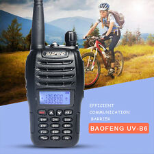 Baofeng  Dual Band VHF UHF 5W Walkie Talkie UV-B6 two way B6 Radio