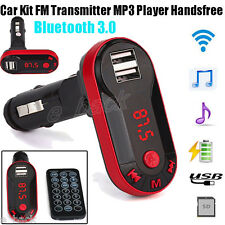 Wireless Bluetooth FM Transmitter Car Kit MP3 Player Handsfree USB TF SD Remote