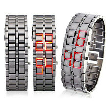 Watch Red LED Digital Lava Futuristic Cool Design New N3