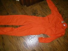 Topps Orange Coveralls Work Apparel NWT Size 40 R  NWT