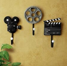 Retro Vintage Film Equipment Decor Hook Wall Hanging Coat Rack Hooks Hanger Rack