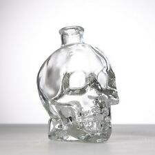 Skull Bottle - Gothic Alcohol Drinking Decanter - Whisky Wine Vodka Glass