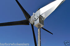 Typhoon Up Tilting Unibody Yaw Wind Turbine Generator 5KT props 24 Volt AC Power
