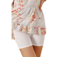 Women Lace Cotton Elastic Safety Underwear Shorts Pants Short Tight Leggings NEW