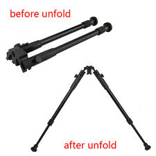 12''-15'' Adjustable Rifle Bipod Hunting Legs Sniper Sling Swivel Mount Monopods