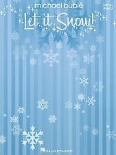 Michael Buble - Let It Snow Piano Vocal (2009, Paperback) Brand New.
