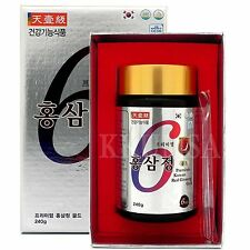 Pure 100% 6 year Korean Red Ginseng Gold extract 240g / Ginsenoside 8.1mg/g