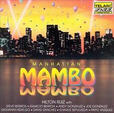 HILTON RUIZ - Manhattan Mambo (CD 1992) USA Import EXC Latin Jazz Bebop