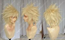 Anime Final Fantasy VII Cloud Strife Cosplay Wig +Free Track number +CAP