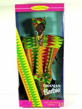 NIB BARBIE DOLL 1996 DOLLS OF THE WORLD GHANIAN