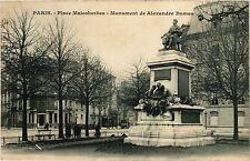 CPA PARIS 17e-Place Malesherbes-Monument de Alexandre Dumas (322510)