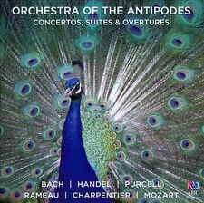 Concertos, Suites & Overtures: Bach, Handel, Purcell, Rameau, Charpentier NEW CD