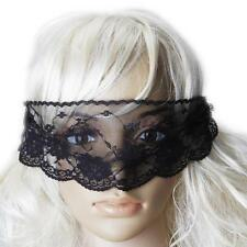 Women Foreplay Play Sexy Black Lace Costume Party Fancy Eye Face Mask Blindfold