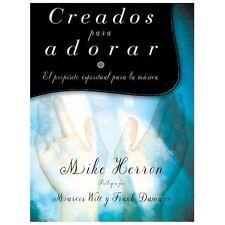 Creados para  adorar: El proposito espiritual para la musica (Spanish Edition)