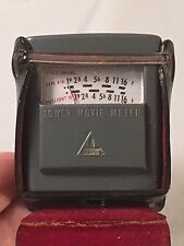 Vintage Tower Exposure Light Meter with Case Accessory / Flash Shoe Photography