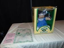 1983 Nell Cabbage Patch Kid in box w/ Birth Certificate Tsukuda Japan Writing