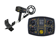 METAL DETECTOR FISHER CZ21- 2,4 KHZ PIASTRA CONCENTRICA 10""