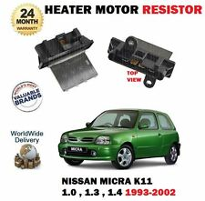 FOR NISSAN MICRA 1.0 1.3 1.4 K11 SERIES 1993-2002 NEW HEATER MOTOR RESISTOR