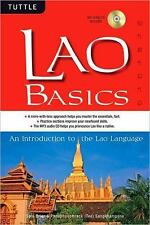 Lao Basics : An Introduction to the Lao Language by Sam Brier and...