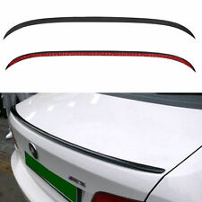 Car Rear Roof Top Splitter Spoiler Trim Wing Bumper Strip Rubber Bar BMW E60 E90