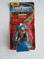 MOTU,ROKKON,Masters of the Universe,MOC,carded,Sealed,action figure, He-Man
