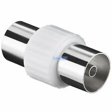 TV Aerial Lead COUPLER Female to Female Socket COAX Connector COAXIAL Adapter