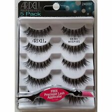 5 Pair - Ardell Eye Lashes DEMI WISPIES Multipack - Black, Fashion Lashes