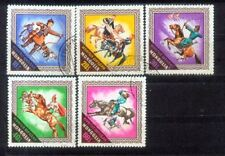 Mongolia Riding Horse Stamps