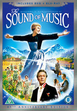 DVD:THE SOUND OF MUSIC (+ BLU RAY) - NEW Region 2 UK