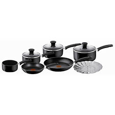 Tefal Delight 7pc Non Stick Coating Cookware Milk Fry Pan Saucepan Frypans Set