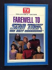 Farewell to Star Trek The Next Generation TV Guide Collector's Edition Sci Fi Bo