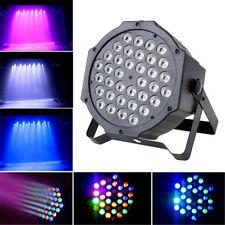 Par Can 36 RGB LED Stage Lights Disco DJ Bar Effect UP Lighting Show DMX Strobe