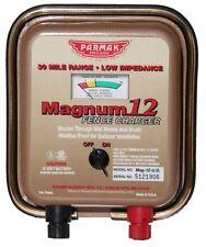 Parmak 12 Volt Magnum Fencer MAG12-UO: 30 mile range. Parker McCrory METAL CASE