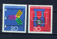 ALEMANIA/RFA WEST GERMANY 1966 MNH SC.965/966 Science,three phase and dynamo
