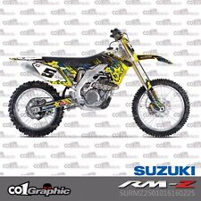 SUZUKI RMZ 250 2010-2017 CO1 GRAPHICS KIT DECALS STICKERS