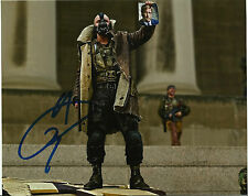 "Tom Hardy Signed 10X8 PHOTO The Dark Knight Rises ""Bane"" AFTAL COA (5318)"